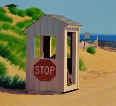 """Summer Job"" oil on canvas by Robert Brooks  available at the R. Michelson Galleries or at rmichelson.com"