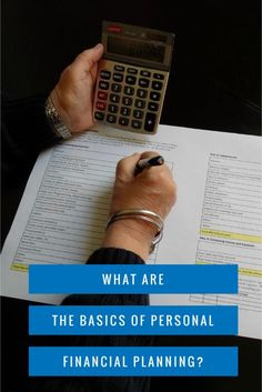What are the Basics of Personal Financial Planning - 4 Simple Steps to start organizing your personal finances