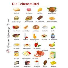 Die Lebensmittel ! 😍💖 Which one is your favorite or what do you love the most that you are missing right now in quarantine? .. .. .. Follow @germanlanguagecircle  Follow @germanlanguagecircle  Follow @germanlanguagecircle  Follow @germanlanguagecircle .. .. .. #germanlanguagetutor #germanlanguagecourse #germanlanguage #germanlanguagecircle #die #das #lebensmittel #dielebensmittelmanufaktur #goetheinstitut #goethe #food #junkfoods #languagelearners #languagelearning #learnlanguagestogether #lea Study German, Learn German, Learn French, German Language Course, German Language Learning, German Grammar, German Words, Deutsch Language, Teaching French