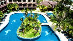 Best Western Premier Bangtao Beach Resort & Spa on lasten suosikki Thaimaan Phuketissa. Koulujen loma-aikoina hotellissa kokoontuu myös Aurinkomatkojen Muumikerho.