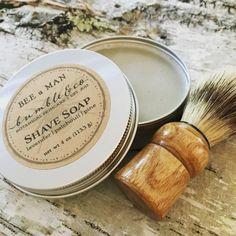Shave Soap Set  Wet Shaving Kit  Shaving Soap Gift by BumbleandCo