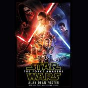 I finished listening to Star Wars: The Force Awakens (Unabridged) by Alan Dean Foster, narrated by Marc Thompson on my Audible app.  Try Audible and get it free.