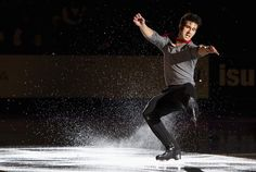 Canada's Liam Firus performs during the exhibition gala during the 2014 Skate Canada International in Kelowna, British Columbia. Reuters / Sunday, November 02, 2014
