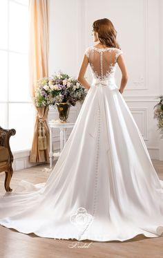 Brautkleid Angely mehreren Farben in Größe 42 für 764€ | auf Wunsch-Brautkleid.de