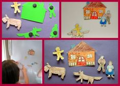 Fairytale magnets for narrative skills