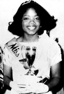 Oprah Winfrey, Miss Black Tennessee ~ 1972