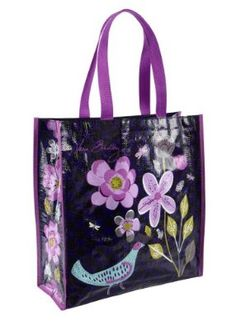 Vera Bradley Shopper Tote Floral Nightingale  these are great to take to the pool, beach, grocery store! Very durable. And stylish... Another good deed towards the Enviroment!