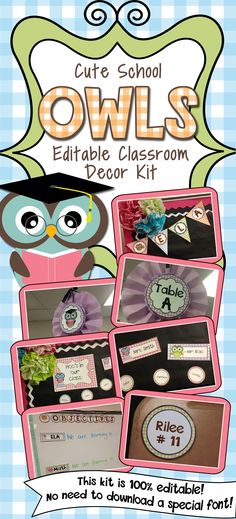 The easiest decor kit you'll ever buy!! Your classroom will thank you :)