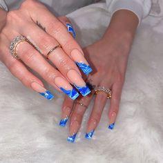 Cute Acrylic Nails, Fun Nails, Nail Designs Bling, Color For Nails, Girls Nails, Gorgeous Nails, Nails On Fleek, Nail Art, Makeup