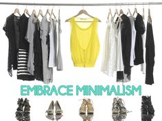 #minimalism #minimalistwardrobe 5 Steps to Making a Minimalist Wardrobe Work for You from http://www.thefrisky.com/2014-05-08/less-is-more-how-to-apply-minimalism-to-your-wardrobe/