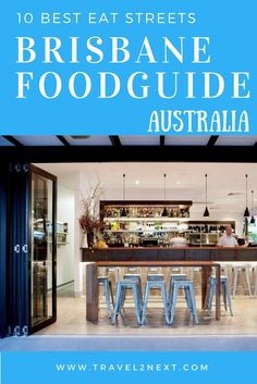 10 best streets in brisbane Brisbane food guide 10 best eat streets Perth, Brisbane Food, Queensland Australia, Brisbane Cafe, South Australia, Melbourne Australia, Moving To Australia, Australia Travel, Western Australia