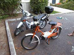 My Honda Amigo 50cc & Honda innova 125cc