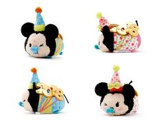Disney is set to release a new set of 2018Mickey and Minnie Tsum Tsums. The new 2018 dated Tsum Tsums are set to be released in the UK and Europe on Jan. 2. Also look of the new Tsum Tsums to surface in the US at some point are the first of the year. Stay tuned for more information about these g