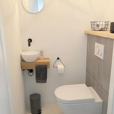 Our Downstairs Bathroom MakeoverOur Downstairs Bathroom Makeover - Design * SpongeToilet - View 31 inspiring examples of a toilet view example .Toilet - See 31 inspiring examples of a toilet view examples an inspiring toiletteClosing Small Toilet Room, Guest Toilet, Downstairs Toilet, Small Bathroom, Bathroom Ideas, Fall Home Decor, Autumn Home, Bathroom Storage, House