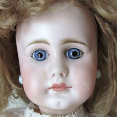 Glorious Antique Sonnenberg Closed Mouth Mystery German Doll                                 http://www.rubylane.com/shop/underthelilacs