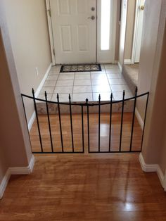Do you have a pet that can only be in certain places while you're away?  Here is the perfect solution without the tacky pet gate look.      ...