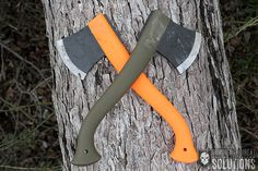 The Mora Outdoor Camp Axe is a lightweight, durable, handheld axe featuring a Boron Steel head and an ultra-sharp blade. The reinforced polymer handle won't rot or splinter and features a lanyard hole at the base for dummy cording to your gear. The overall length of 12.6 inches makes the Mora Outdoor Camp axe perfect for campers and backpackers alike. It will make short work out of your kindling requirements for fire building and easily slips into a backpack. http://itstac.tc/1BB42Tc