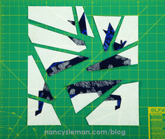 Foundation-Piece a Festive Reindeer Block | Nancy Zieman | Nancy's Notions Guest Blog