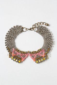 Moonstone Treasure Collar #anthropologie