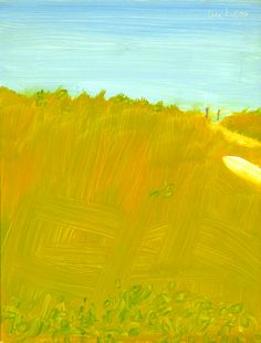 Alex Katz, White Boat, 2008