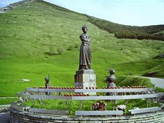 Shrine of Our Lady of La Salette ~ The Blessed Virgin Mary appeared to two young children, Melanie Mathieu and Maximin Giraud in LaSalette, France in the year 1846. In 1851, five years after the apparitions at La Salette, the Bishop of the diocese, declared the apparition as authentic and divine in origin.