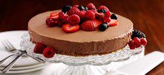 Philadelphia Philly Chocolate & Fruit Cheesecake
