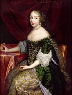 The Duchess of Savoy probably Christine of France. Charles Beaubrun