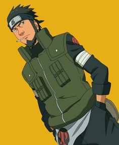 Asuma Sarutobi (猿飛アスマ, Sarutobi Asuma) was a jōnin-level shinobi of Konohagakure's Sarutobi clan as well as a former member of the Twelve Guardian Ninja. He was also the leader of Team 10 which consists of Shikamaru Nara, Ino Yamanaka, and Chōji Akimichi. Anime Naruto, Naruto Run, Naruto Uzumaki Art, Naruto Shippuden Characters, Sasuke Uchiha, Anime Chibi, Anime Characters, Boruto, Asuma Y Kurenai