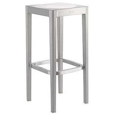 Emeco Barstool - Brushed  Designed by Philippe Starck for Emeco