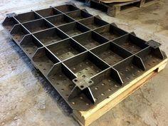 Сварочный стол. 1200х800х150 мм Отверстия 16 мм, шаг отверстий 50 мм, шаг сетки 50 мм, толщина материала 6 мм.