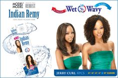 Model Model 100% Remy Human Hair Weaving Remist Moisture Indian Remy Jerry Curl 4pcs