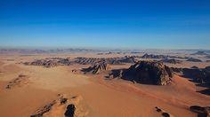 Un periodista de ABC Viajar visita el wadi Rum, en Jordania, donde Ridley Scott localizó su película