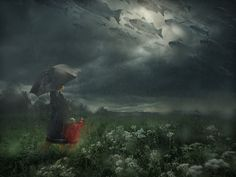 Lost in the Rain - Erik Johansson on Behance