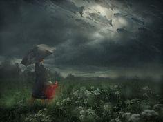 Lost in the Rain - Erik Johansson on Behance