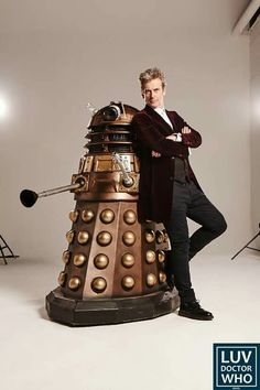 Look. The Doctor befriended the Dalek.