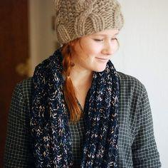 fuzzy warm hat scarf
