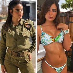 Idf Women, Military Women, Sexy Backless Dress, Brave Women, Military Girl, Female Soldier, Girls Uniforms, Badass Women, Slip