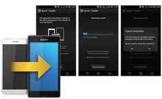 Xperia Transfer, app para migrar tus datos desde tu smartphone Android http://www.xatakandroid.com/p/98851