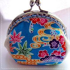 Handmade Coin Purse  Okinawa Blue by Apursemarket on Etsy, $20.00