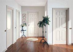 Cum alegeti usile intr-o amenajare de interior?/How do you choose your doors in an interior design? Floor Colors, Scandinavian Home, Sweet Home, House Design, Flooring, Interior Design, Home Decor, Hallways, Google