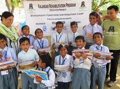 The annual stationery & uniform distribution camp was recently held at Talsemri village in #UttarPradesh for the #Kalandar children starting a new academic session by the #WildlifeSOS team. We love these eager happy faces, waiting to attend new classes and fulfill their dreams!
