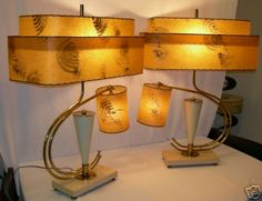 Majestic MCM Lamps - I have a thing for Majestic MCM lamps..these are fabulous!