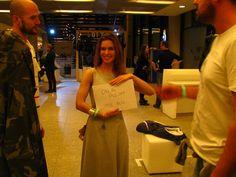 Projektanci też myją ręce! :) Na zdjęciu Klara Kowtun - założycielkaRISK made in Warsaw
