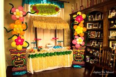 Luau Party Decor