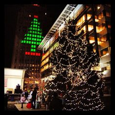 The Allentown Christmas Tree lighting will take place at PPL Plaza on Nov 29 from 4 - 7 p.m. #allentown