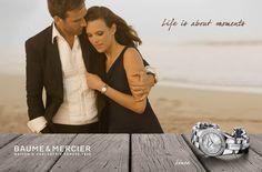 "Baume & Mercier ""Life is about moments"" @Baume & Mercier"