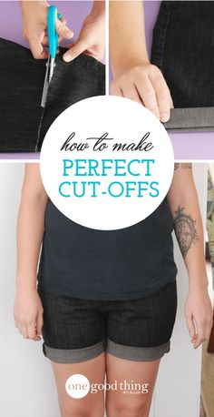 How To Make The Perfect Denim Cut-Offs
