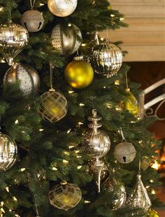 Decorate your home for Christmas with this exquisite Colorado Mountain Spruce. Shop artificial Christmas tree and holiday decor at Balsam Hill today. Christmas Home, Christmas Bulbs, Christmas Ideas, Decorating Your Home, Holiday Decorating, Decorating Ideas, Balsam Hill, Shades Of Gold, Colorado Mountains