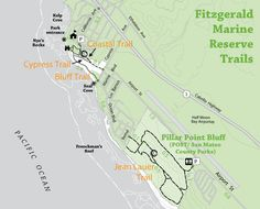 Fitzgerald Marine Reserve Trails Marine Reserves Parks Department County Park