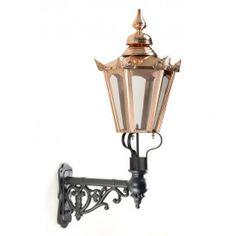 Hexagonal Lantern on Bracket